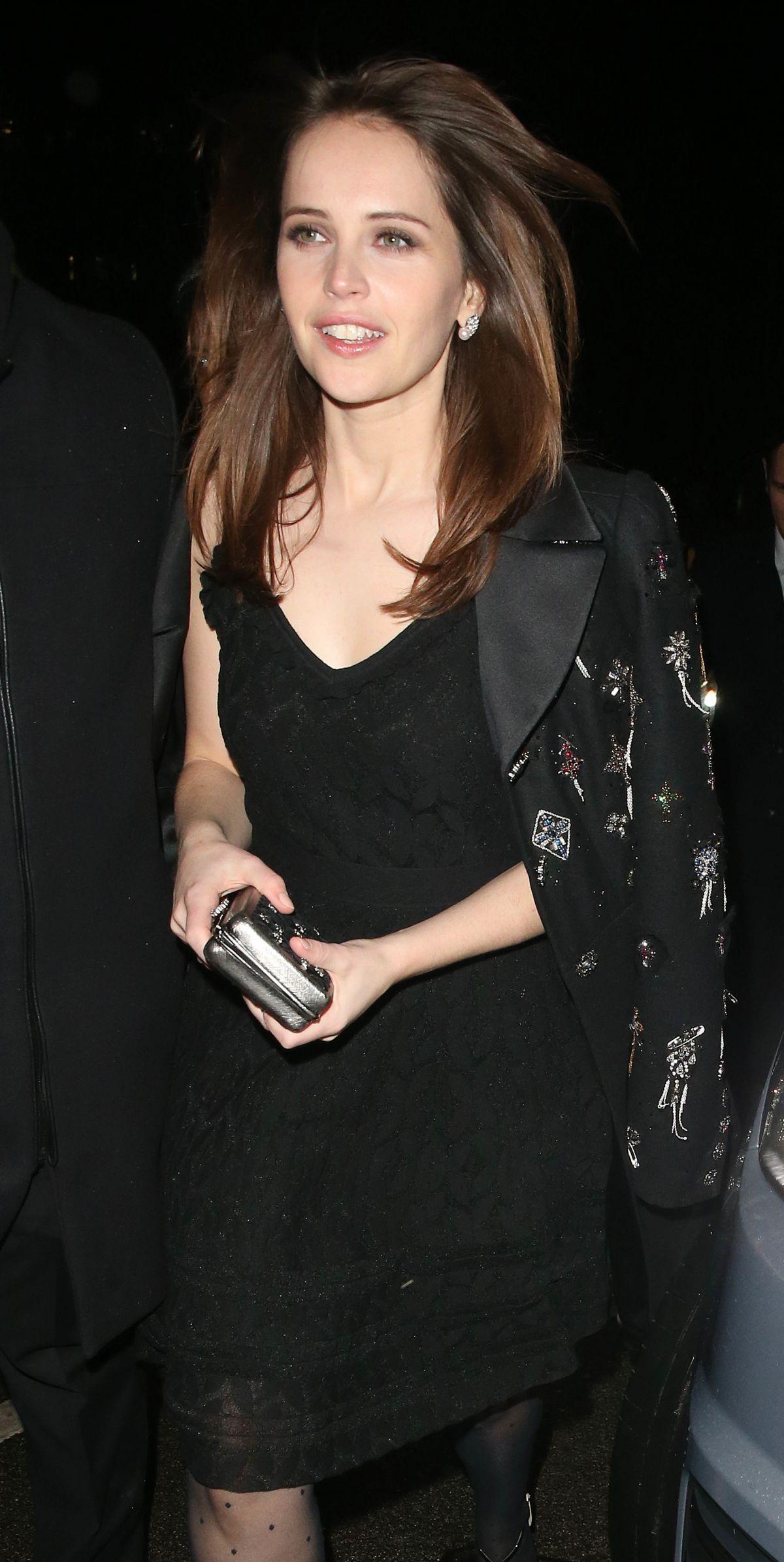 Felicity Jones Leaves Pre Bafta Party London Olivia Palermo Arrives Jonathan Simkhai