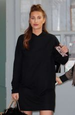 FERNE MCCANN Leaves ITV Studios in London 02/16/2017