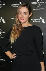 FRAN NEWMAN-YOUNG at Universal Music Pre-brit Award Party in London 02/20/2017