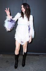 FRANCESCA BEAN COBAIN at Marc Jacobs show Fashion Show at New York Fashion Week 02/16/2017