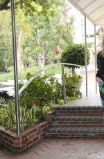 FRAUKE LUDOWIG at Hotel Sunset Marquis in Los Angeles 02/26/2017