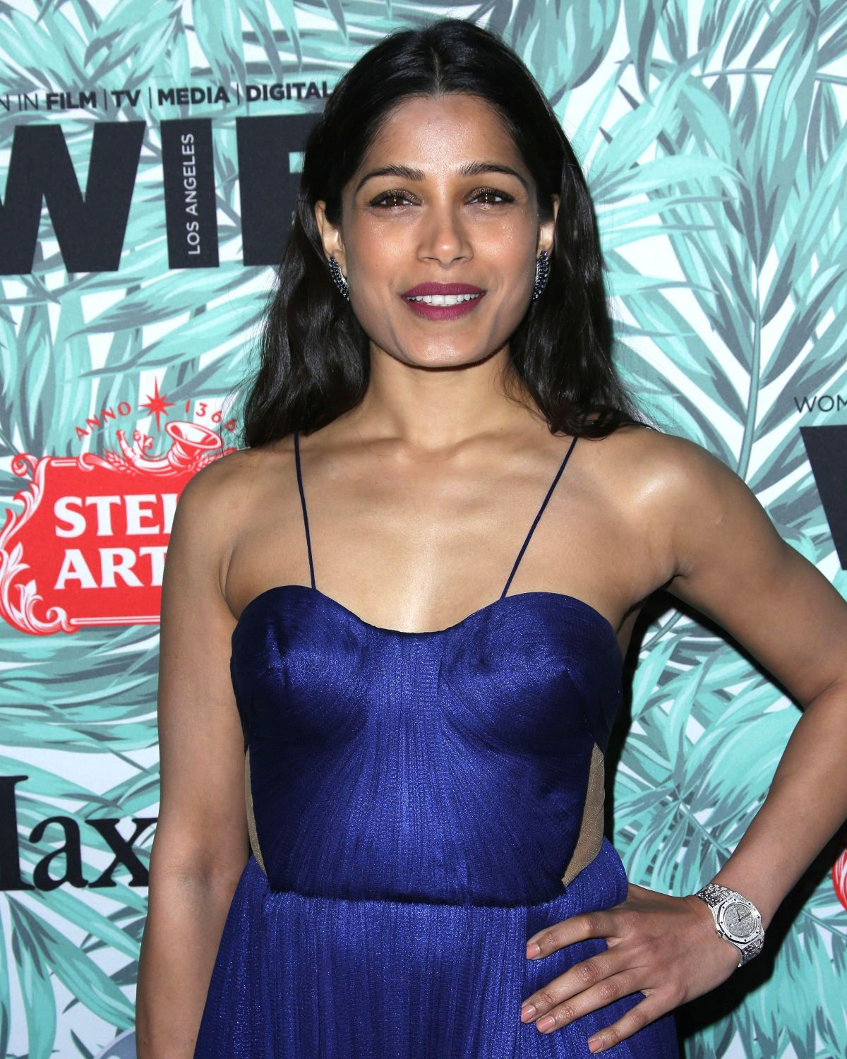 FREIDA PINTO at 10th Annual Women in Film Pre-oscar Party ... Freida Pinto