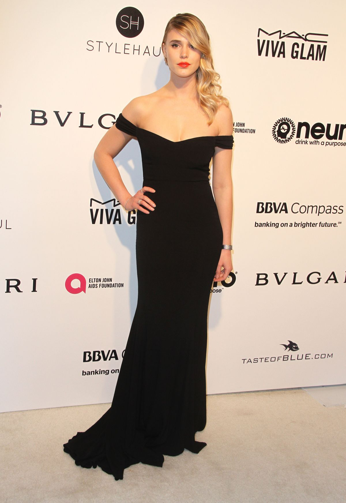 GAIA WEISS at 25th Annual Elton John Aids Foundation's Oscar Viewing Party in Hollywood 02/26/2017