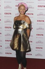 GEMMA CAIRNEY at Costa Book Awards in London 01/31/2017