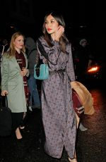 GEMMA CHAN Arrives at Harvey Weinstein Pre Baftas Dinner in London 02/10/2017