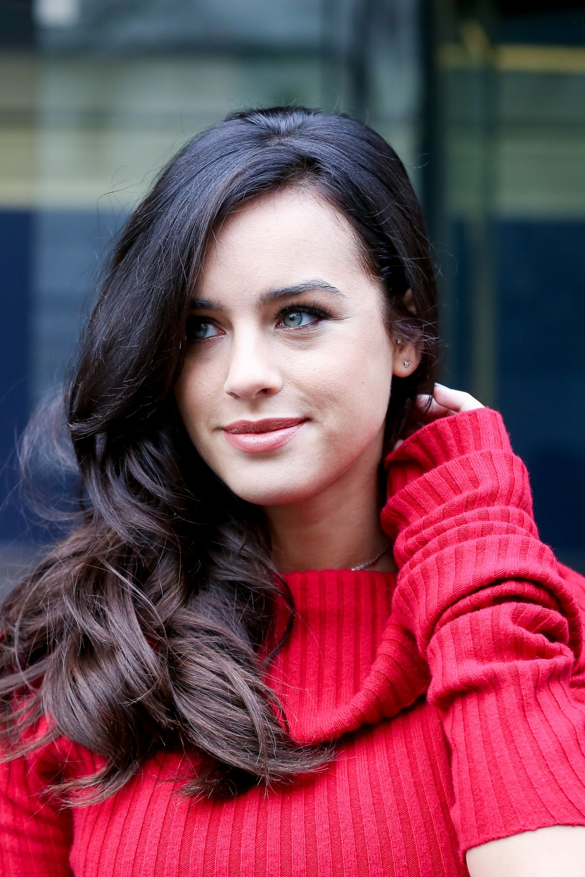 GEORGIA MAY FOOTE at London Fashion Week 02/17/2017