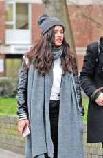 GEORGIA MAY FOOTE Out and About in Primrose Hill 02/23/2017