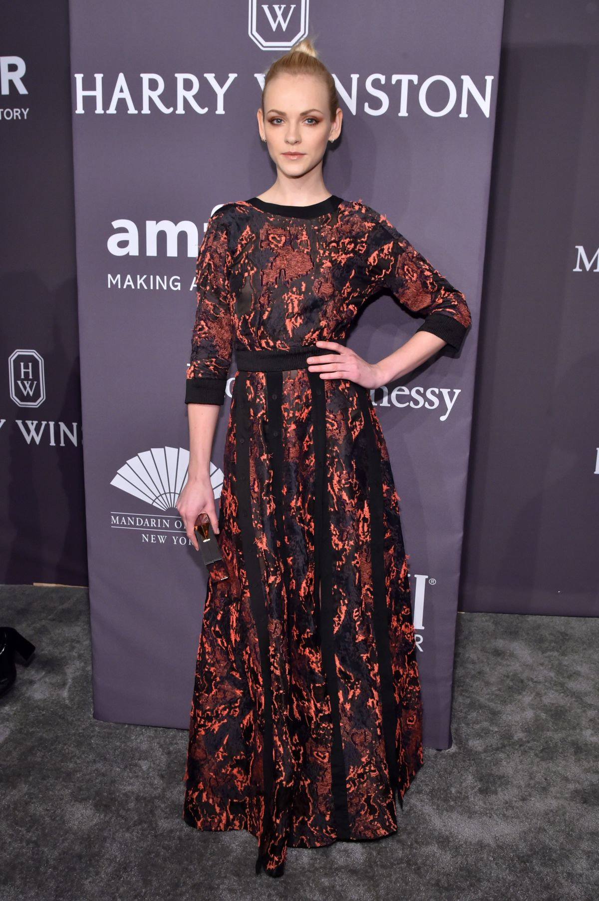 GINTA LAPINA at AMFAR 2017 New York Gala 02/08/2017