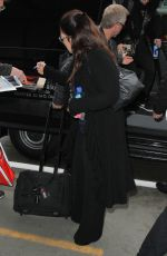 GLORIA ESTEFAN at LAX Airport in Los Angeles 02/17/2017