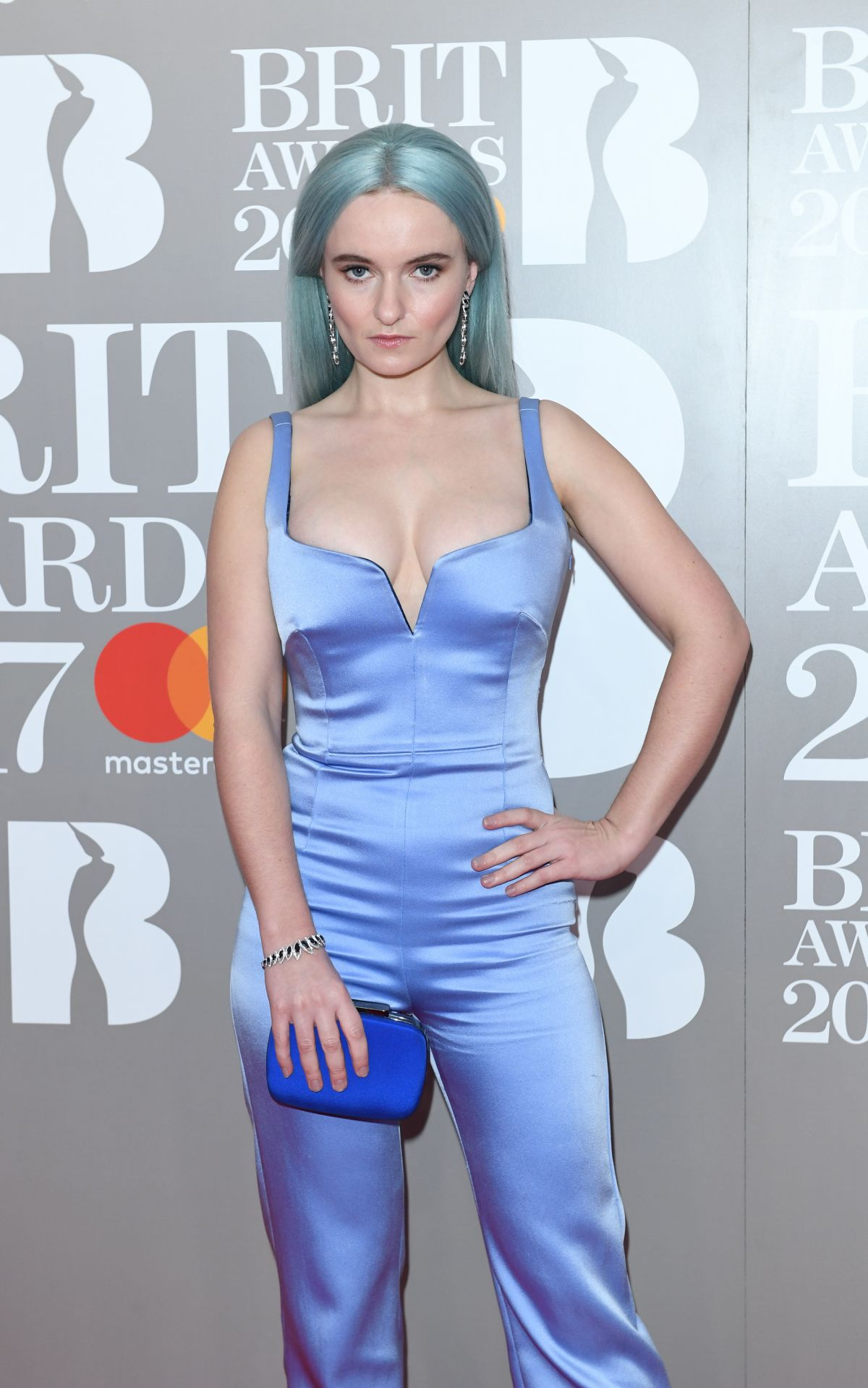 GRACE CHATTO at Brit Awards 2017 in London 02/22/2017
