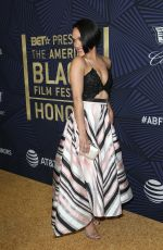 GRACE GEALEY at Bet's 2017 American Black Film Festival Honors Awards in Beverly Hills 02/17/2017