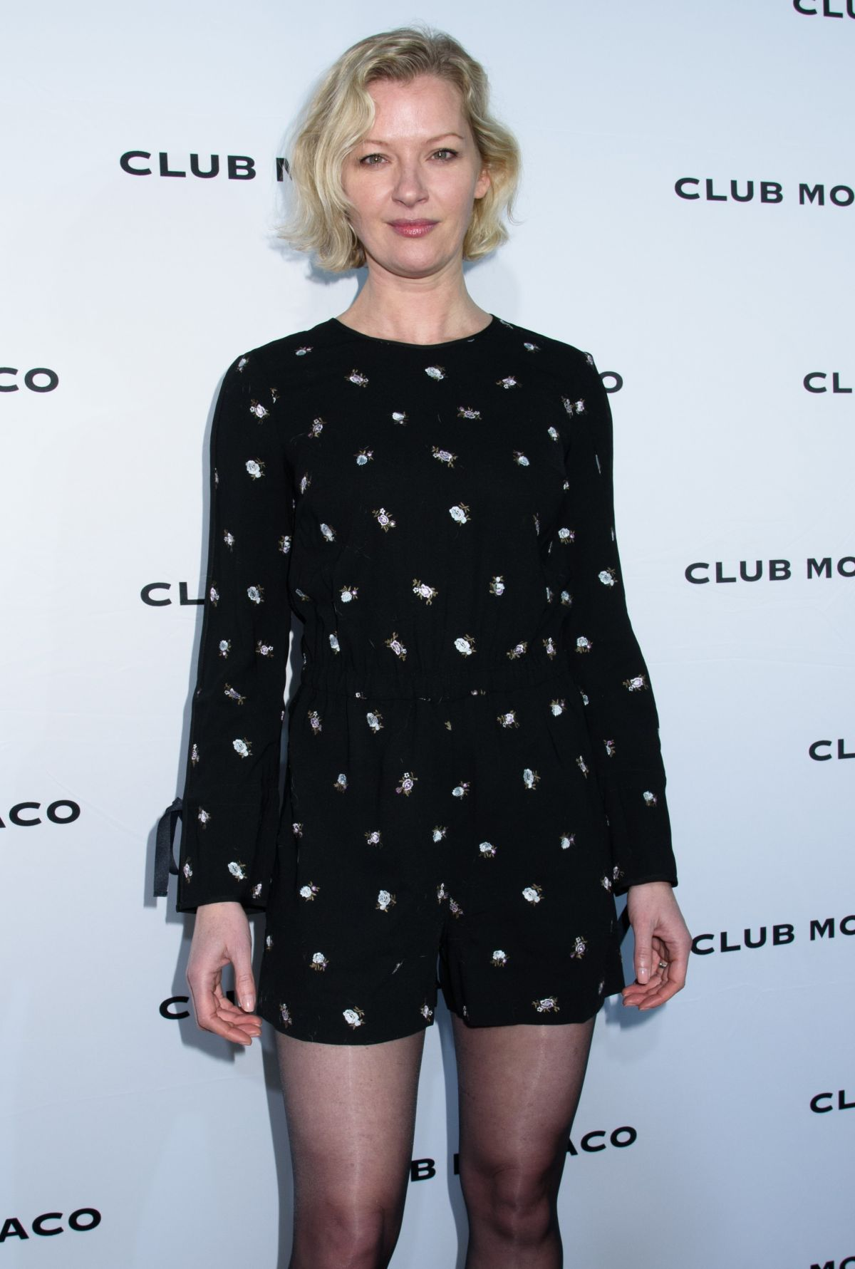 GRETCHEN MOL at Club Monaco Fashion Presentation in New York 02/10/2017