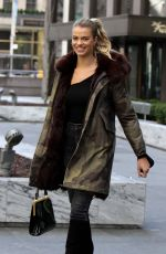 HAILEY CLAUSON Out and About in New York 02/16/2017