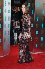HANNAH BAGSHAWE at Bafta 2017 Awards in London 02/12/2017