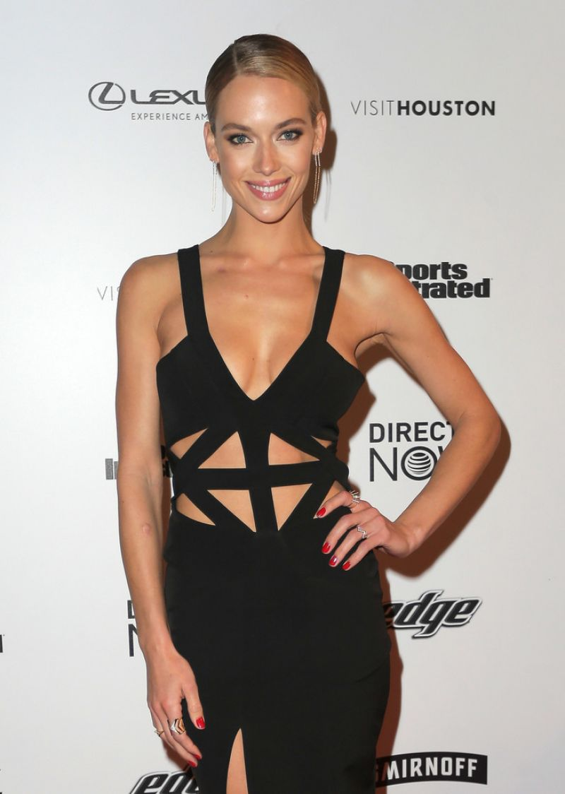 HANNAH FERGUSON at Vibes by SI Swimsuit 2017 Launch Festival in Houston 02/17/2017