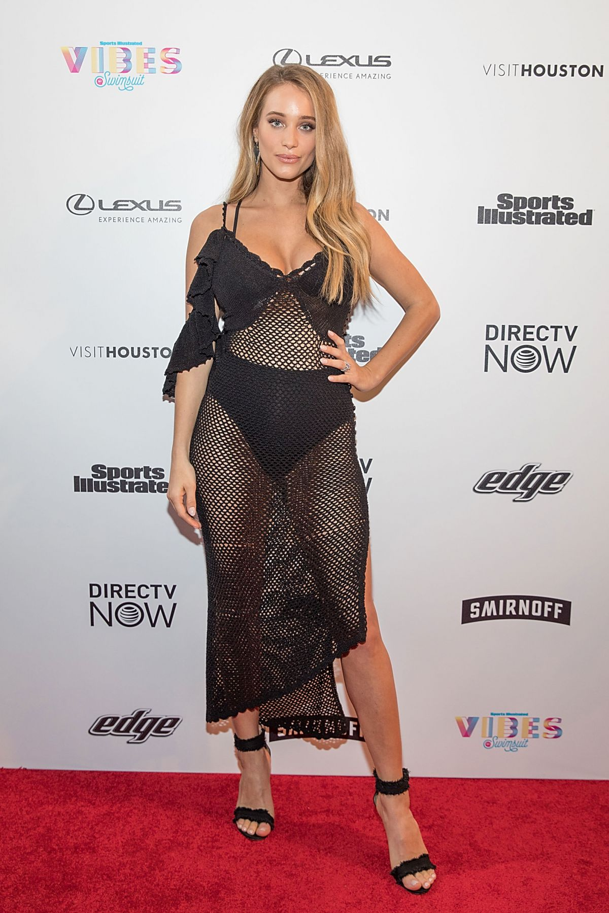 HANNAH JETER at VIBES by SI Swimsuit 2017 Launch Festival Day 2 in Houston 02/18/2017
