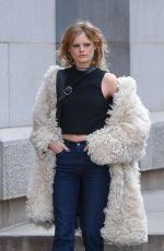 HANNE GABY ODIELE Out and About in New York 02/16/2017