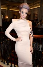HATTY KEANE at Joshua Kane Fashion Show in London 02/17/2017