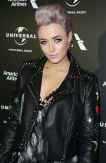 HATTY KEANE at Universal Music Pre-brit Award Party in London 02/20/2017