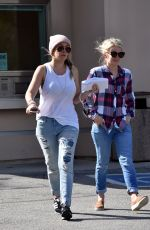 HAYLIE DUFF Out and About in Studio City 02/09/2017