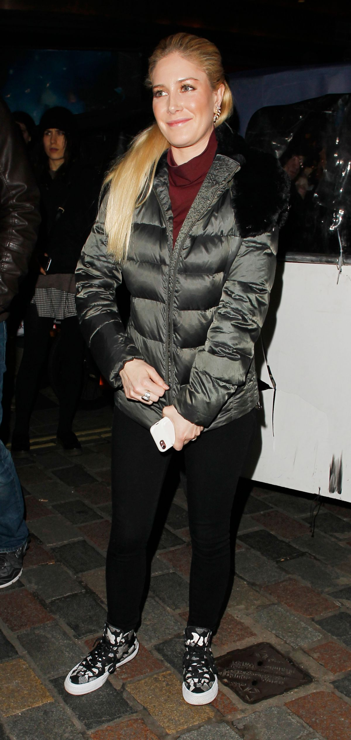 HEIDI MONTAG and Spencer Pratt Night Out in London 02/04 ...