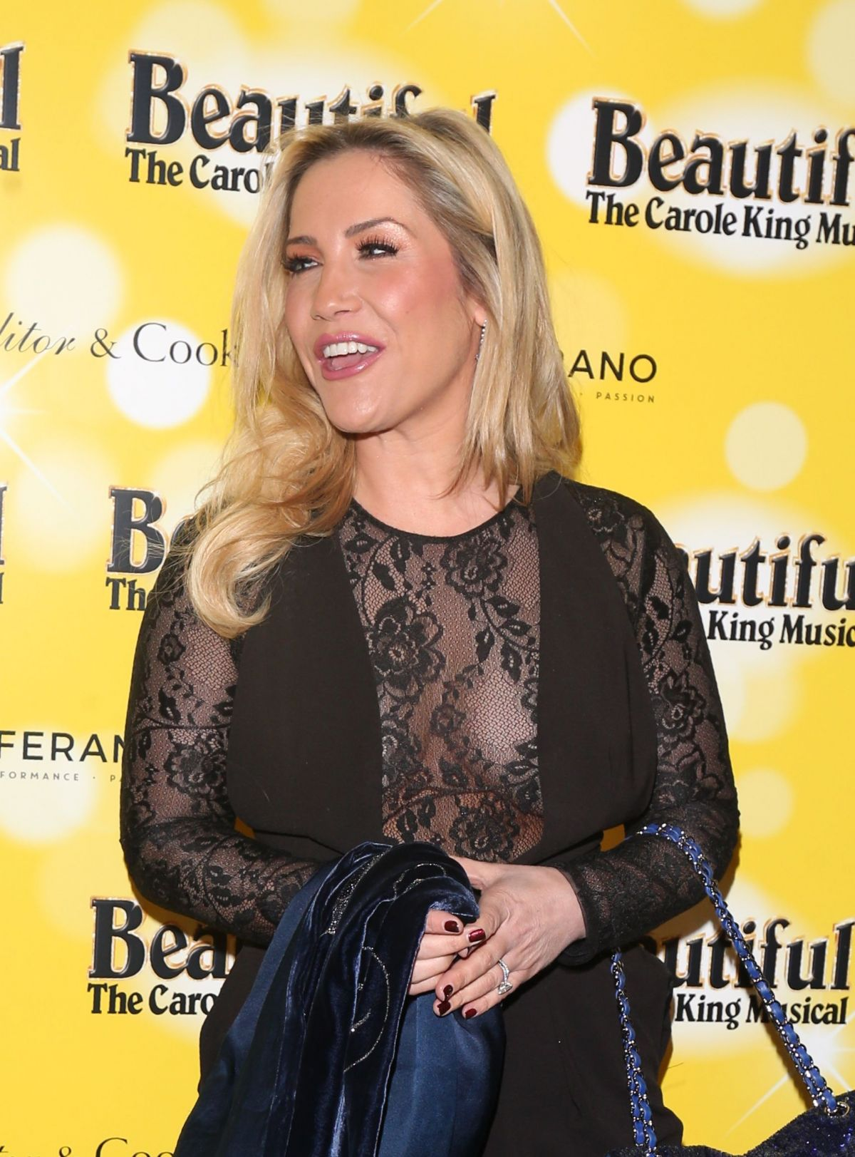 HEIDI RANGE at Beautiful: The Carole King Musical Birthday Gala in London 02/09/201