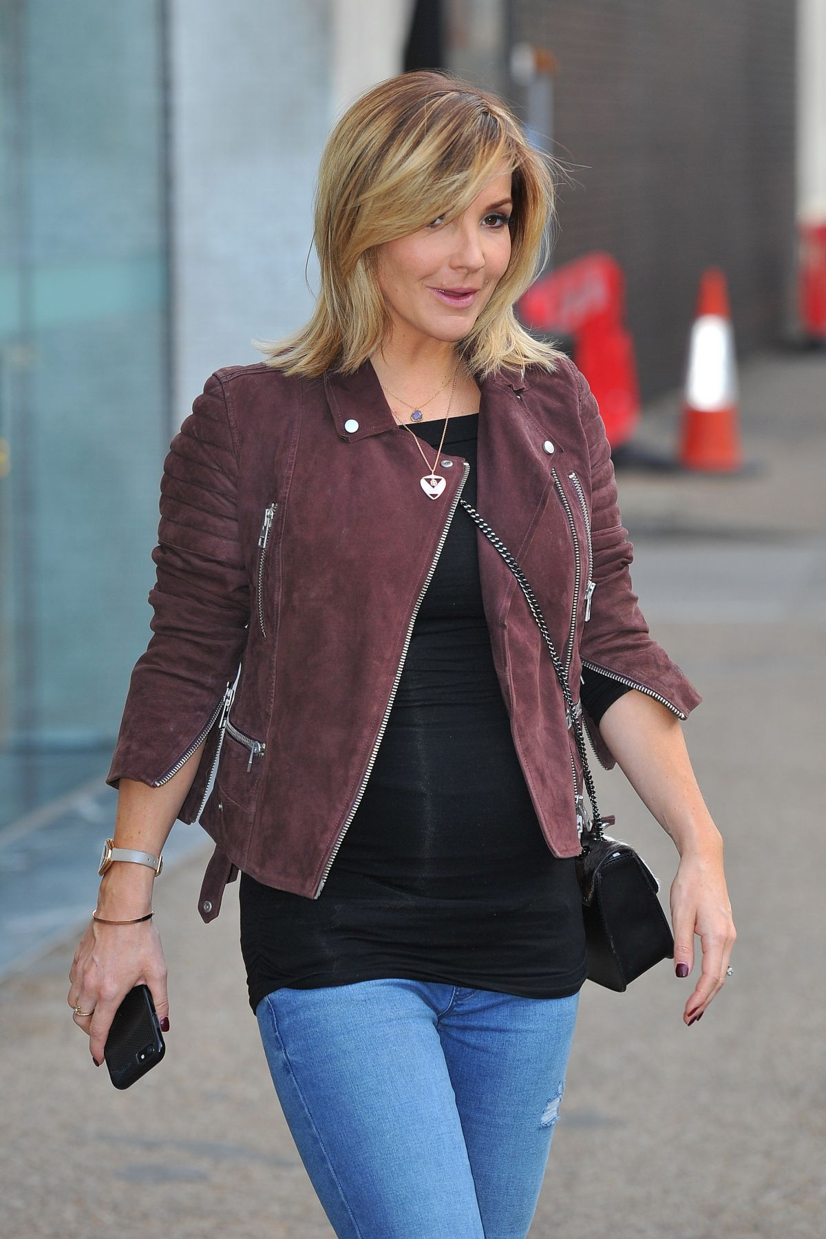 HELEN SKELTON at ITV Studio in London 02/20/2017