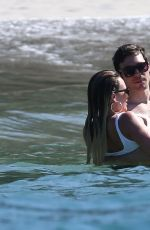 HILARY DUFF in Bikini on the Beach in Costa Rica 02/15/2017