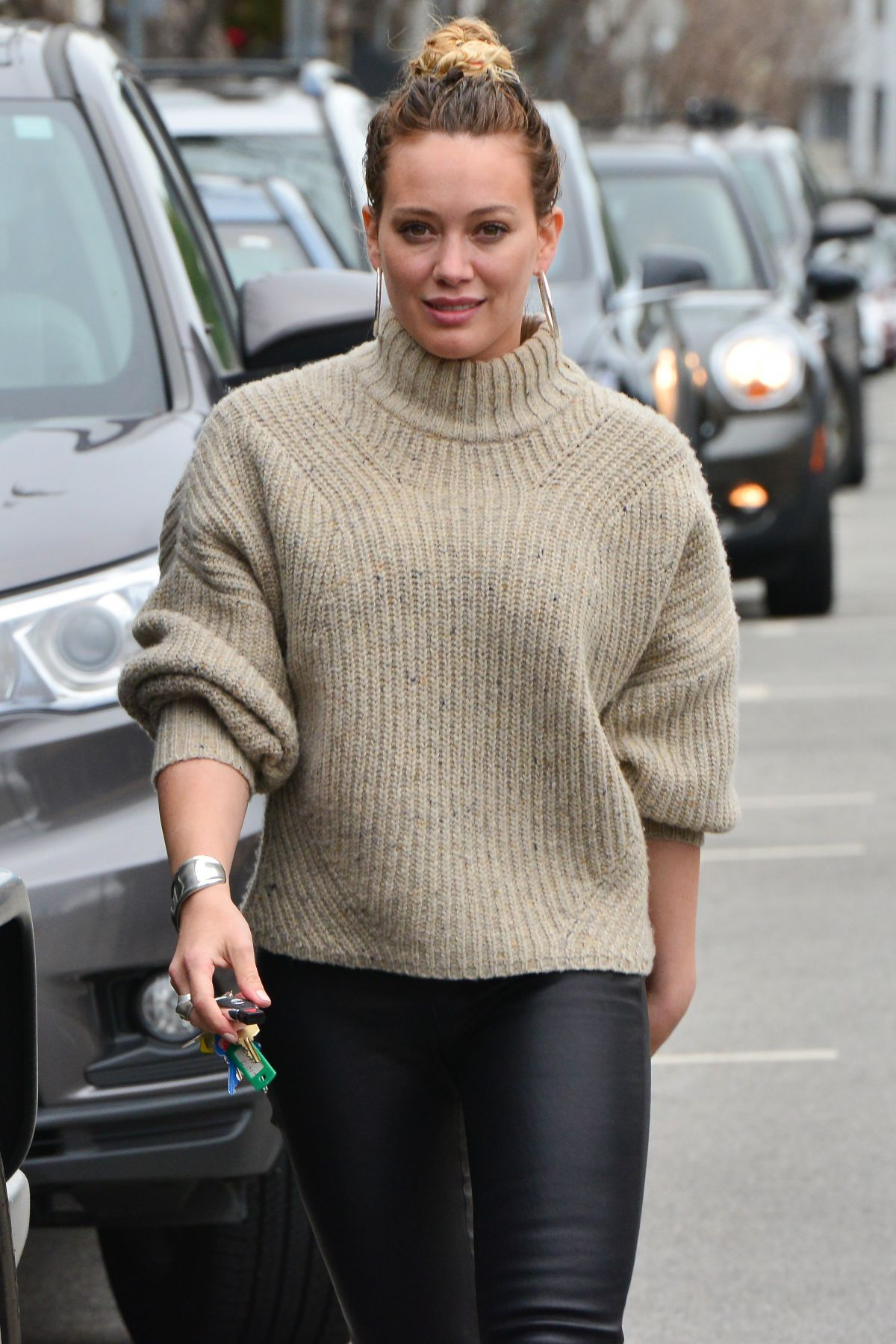 HILARY DUFF Out in West Hollywood 02/21/2017 - HawtCelebs Hilary Duff