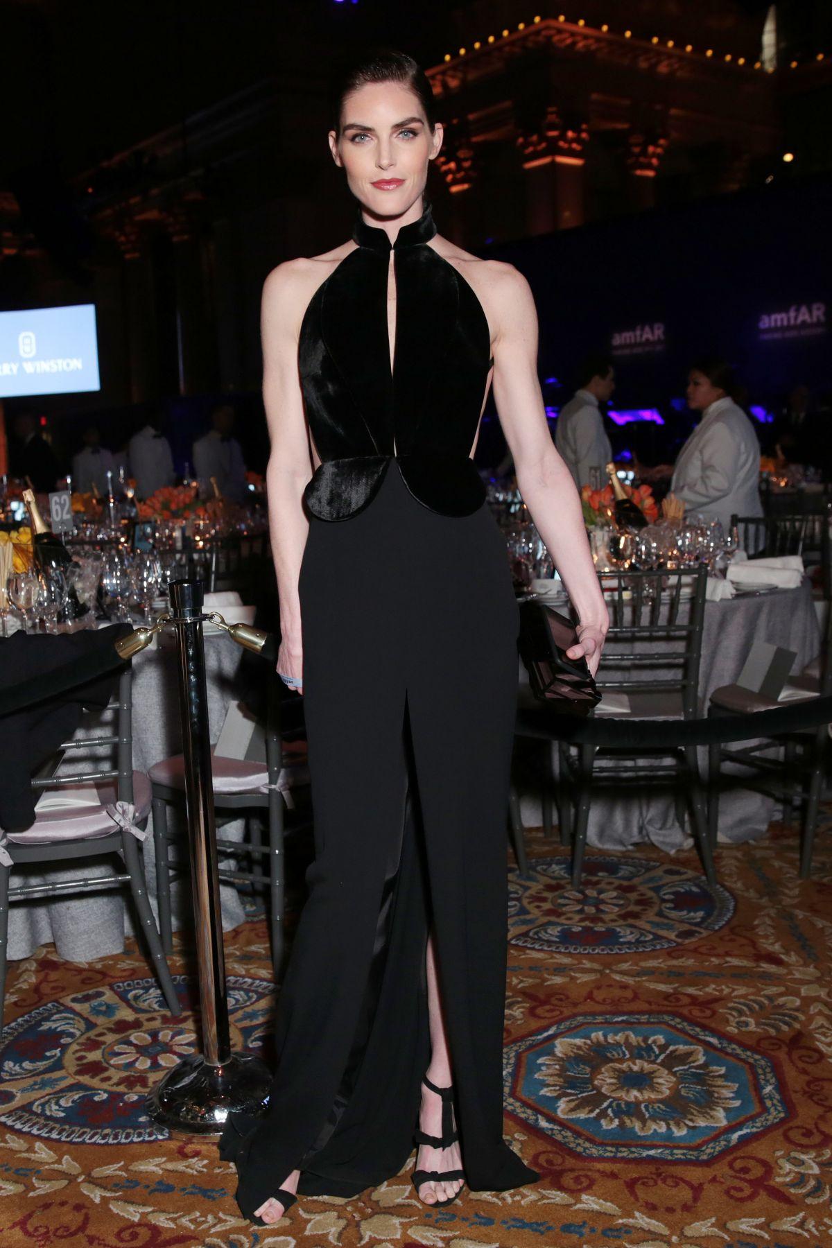 HILARY RHODA at AMFAR 2017 New York Gala 02/08/2017