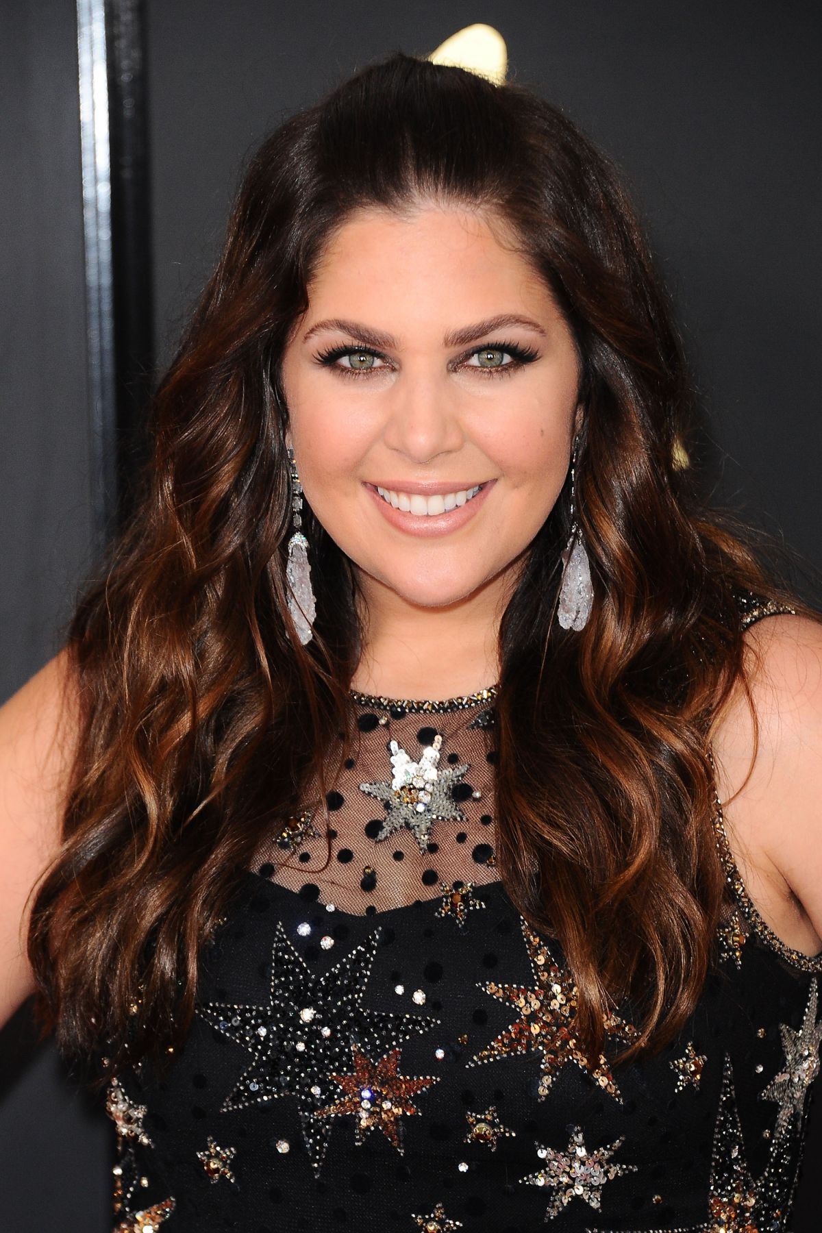 HILLARY SCOTT at 59th Annual Grammy Awards in Los Angeles 02/12/2017