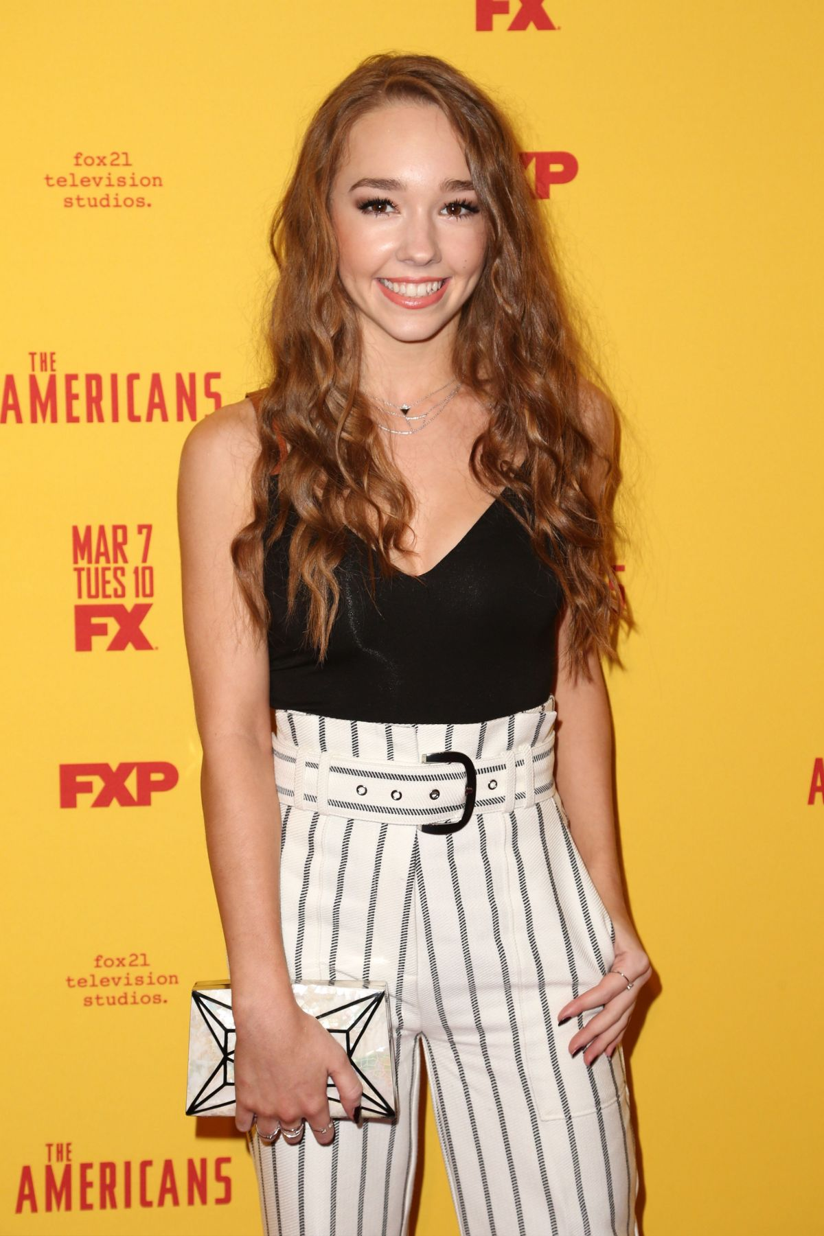 HOLLY TAYLOR at The Americans Season 5 Premiere in New York 02/25/2017