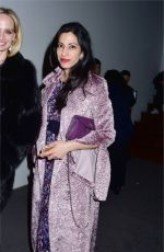HUMA ABEDIN Arrives at Prabal Gurung Fashion Show at New York Fashion Week 02/12/2017