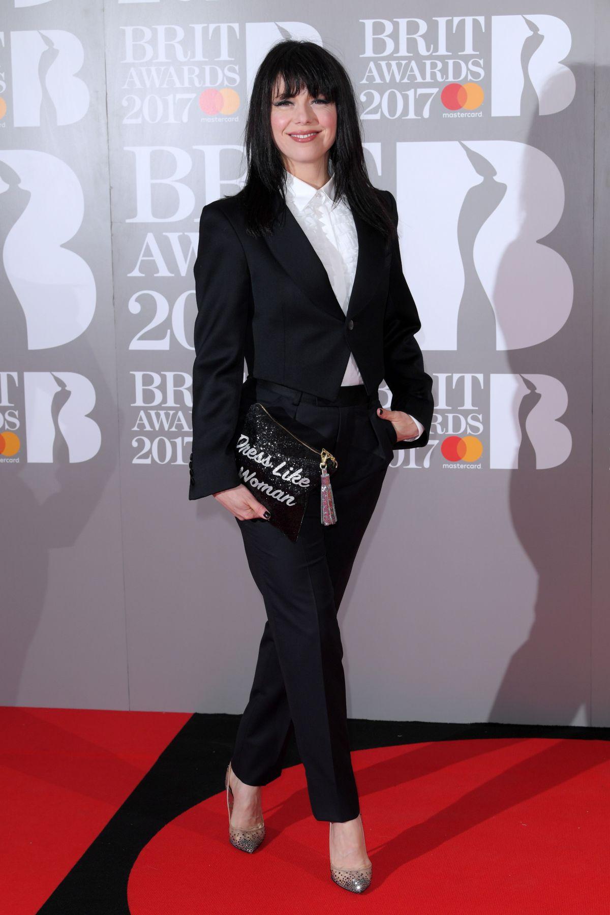 IMELDA MAY at Brit Awards 2017 in London 02/22/2017