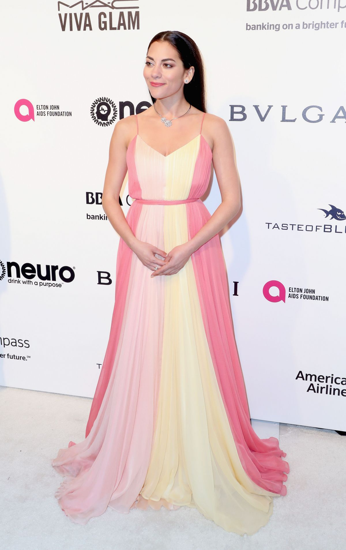 INBAR LAVI at 25th Annual Elton John Aids Foundation's Oscar Viewing Party in Hollywood 02/26/2017