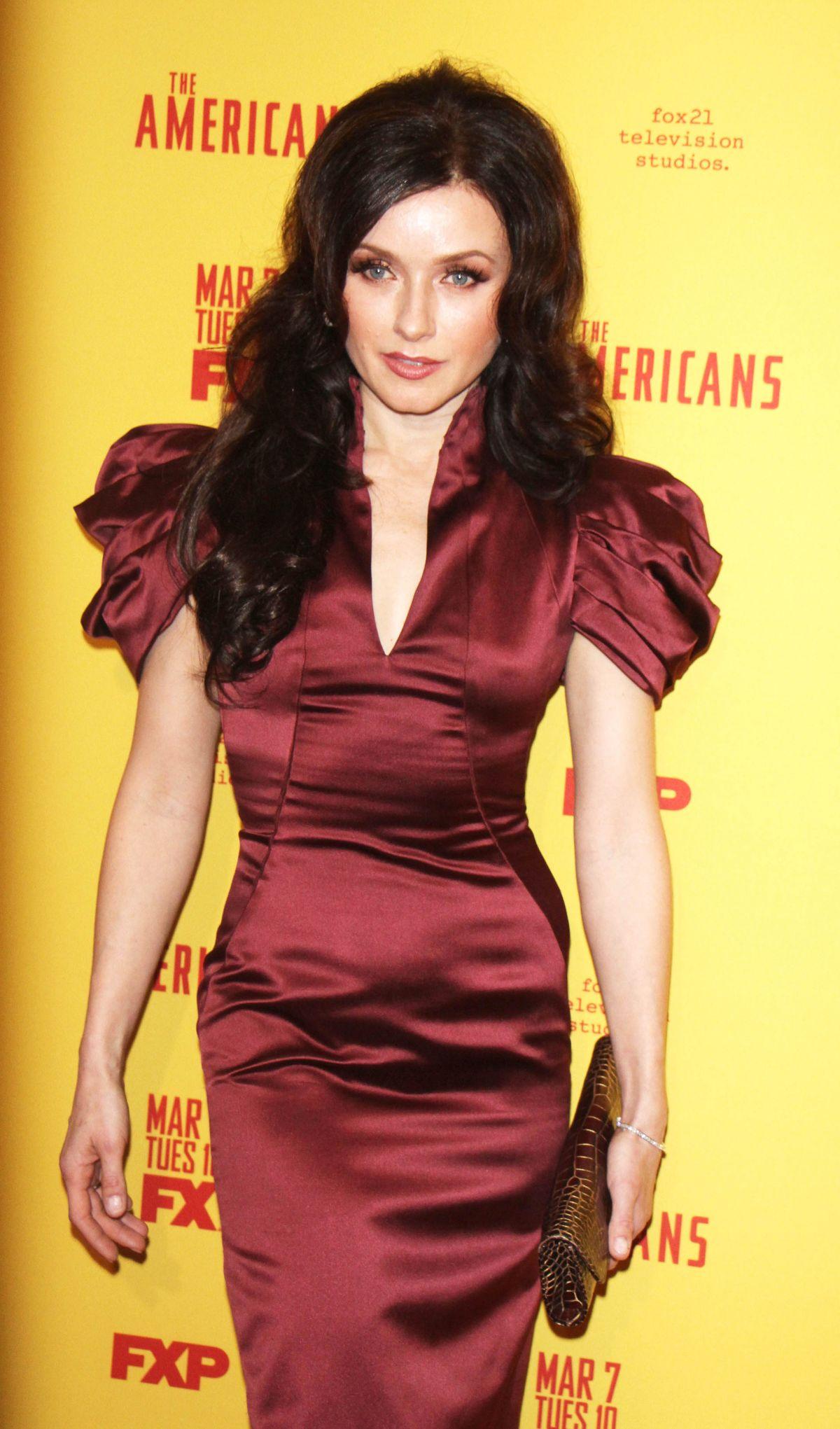 IRINA DVOROVENKO at The Americans Season 5 Premiere in New York 02/25/2017