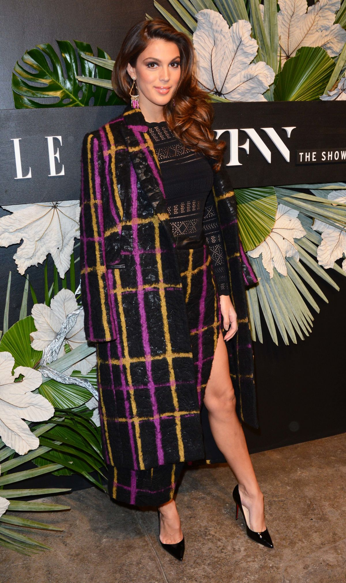 IRIS MITTENAERE at ELLE, E! and Img New York Fashion Week Kick-off Party in New York 02/08/2017