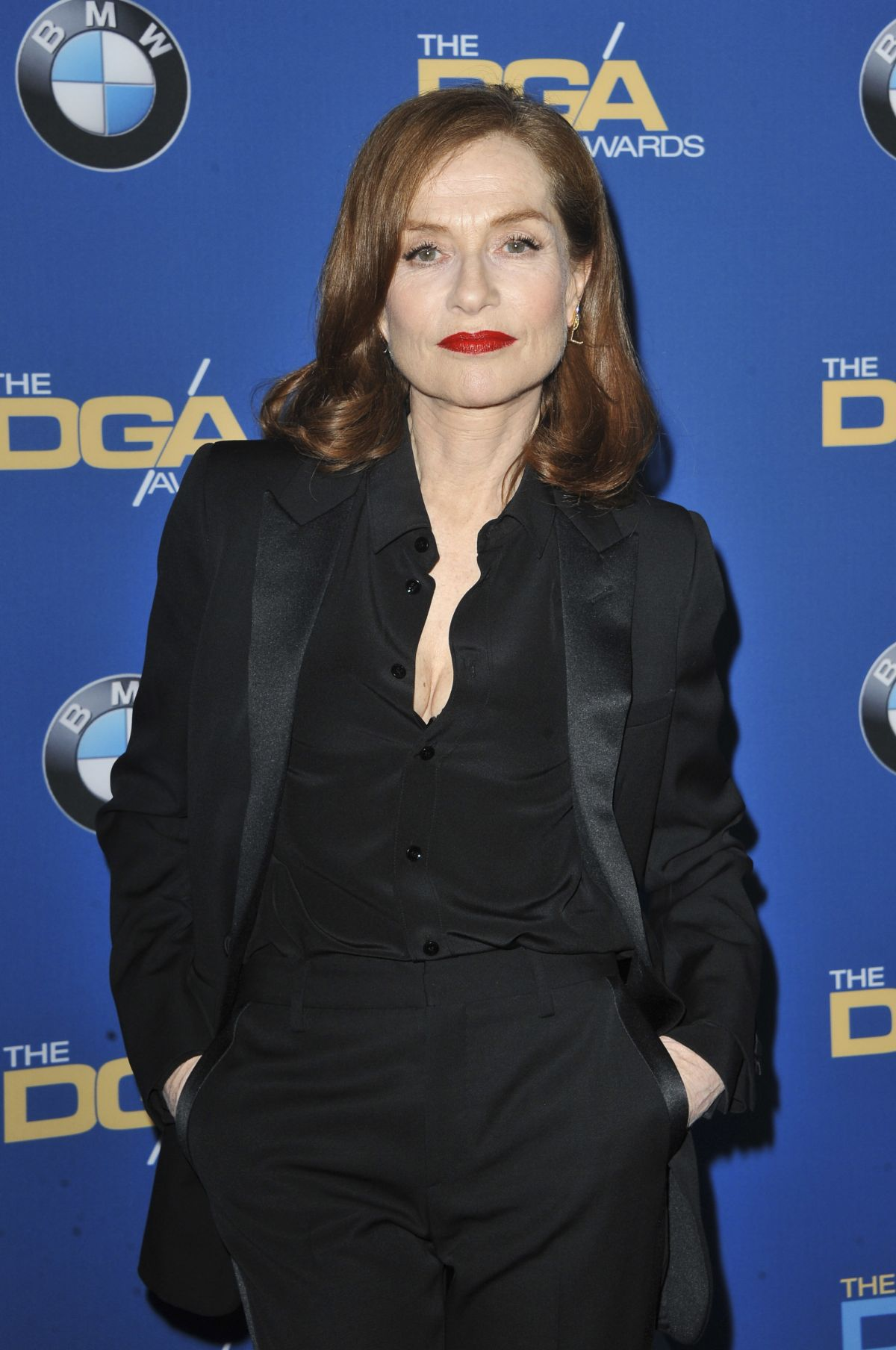 ISABELLE HUPPERT at 69th Annual Directors Guild of America Awards in Beverly Hills 02/04/2017