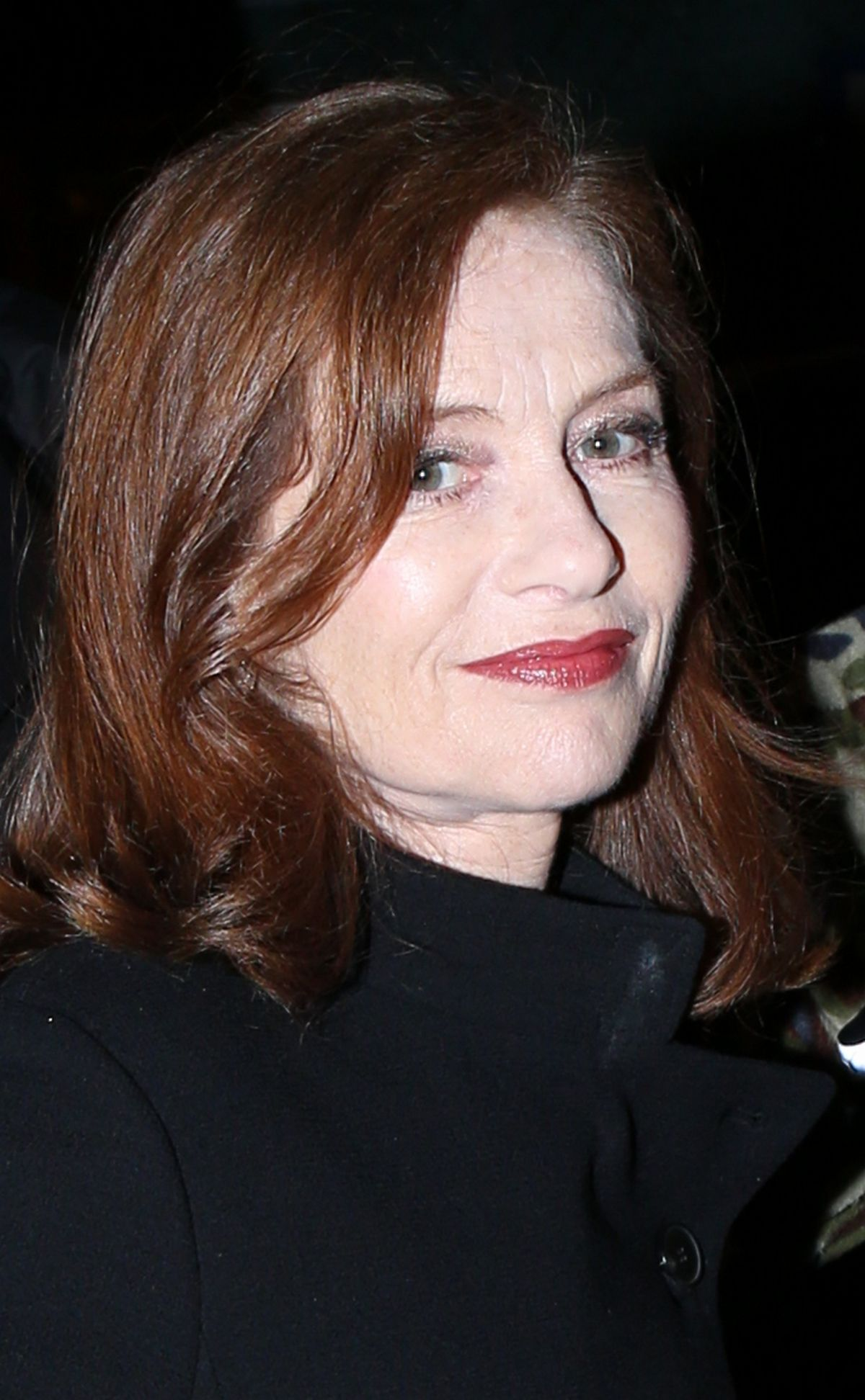 ISABELLE HUPPERT at Westminster Hotel in Paris 01/30/2017 - HawtCelebs