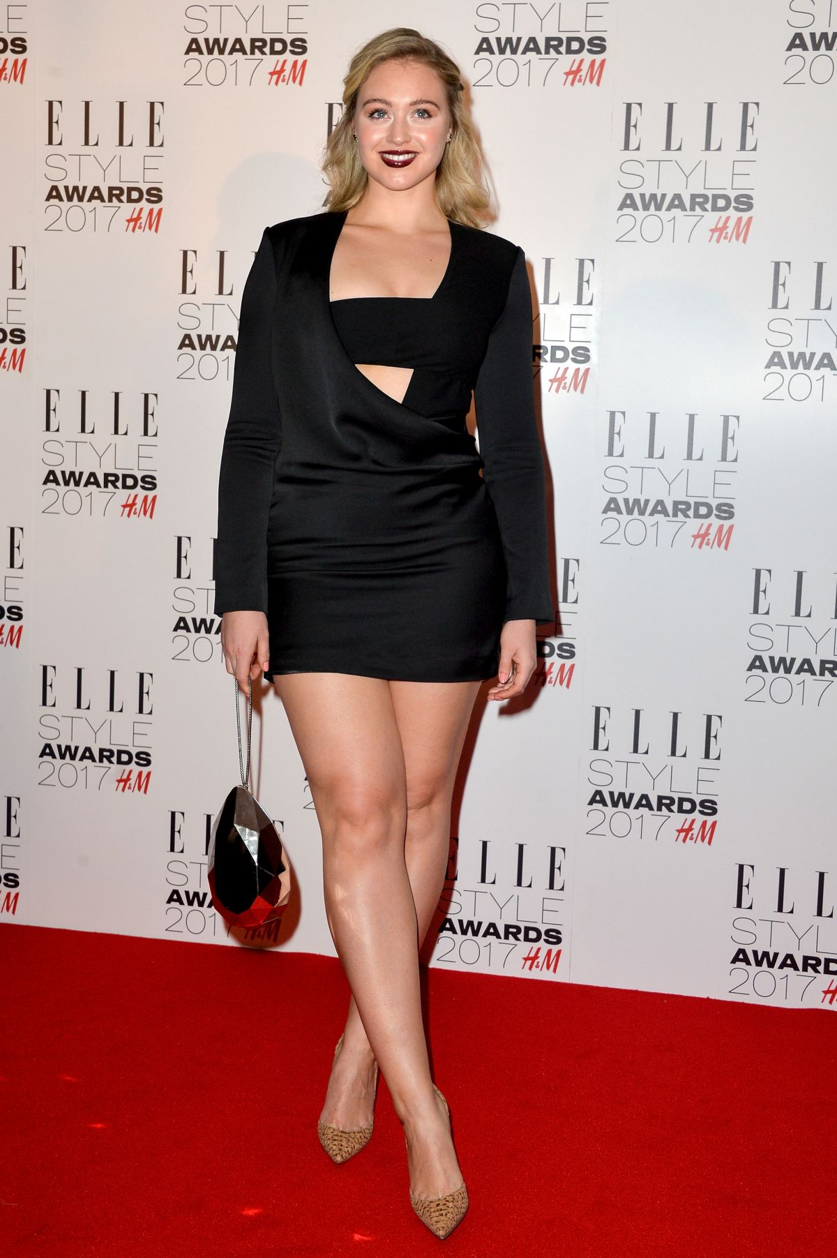 ISKRA LAWRENCE at Elle Style Awards 2017 in London 02/13