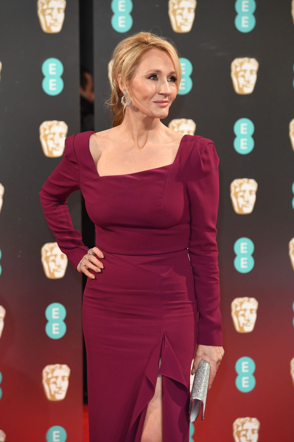 J.K. ROWLING at Bafta 2017 Awards in London 02/12/2017