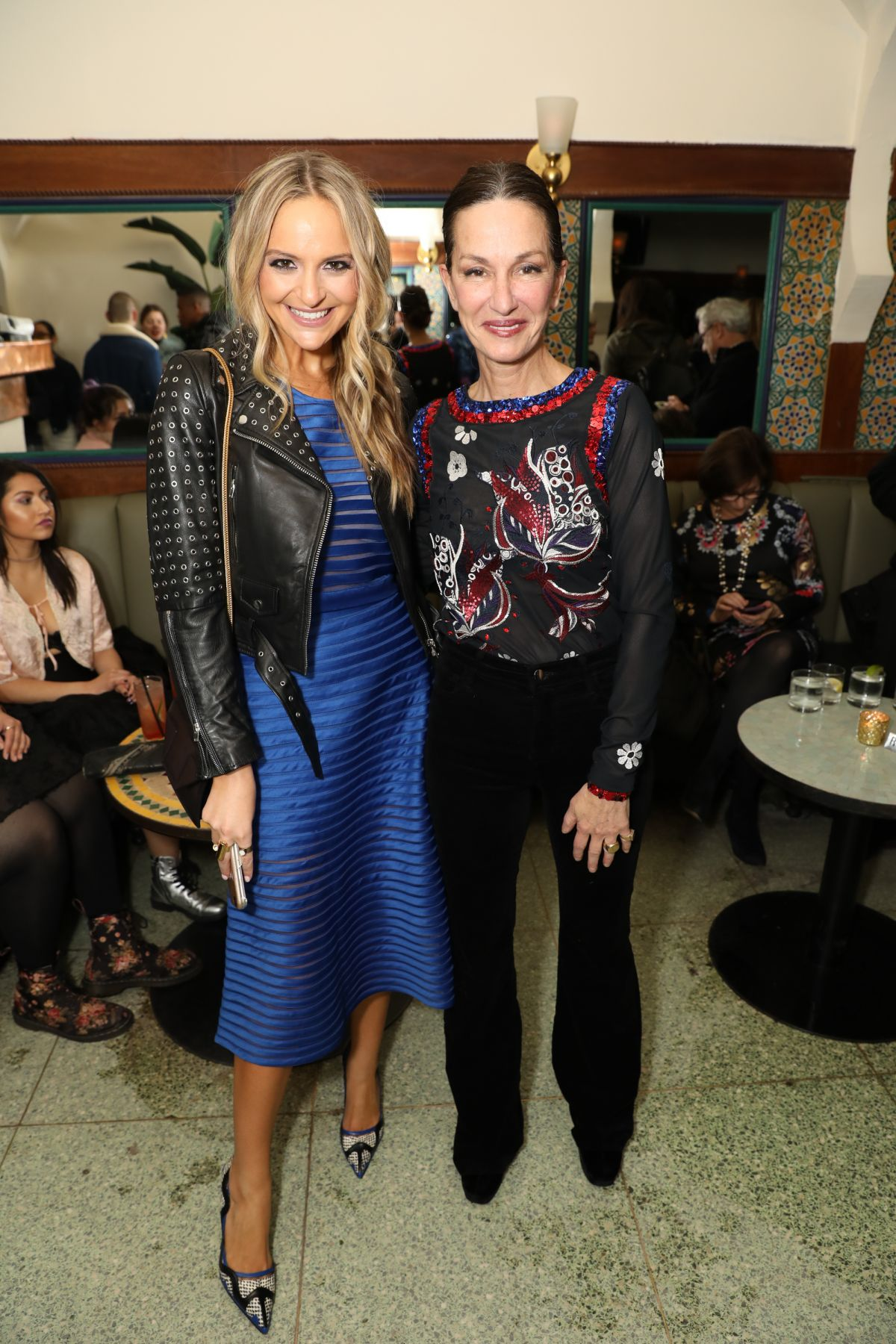 JACKIE MIRANNE and CYNTHIA ROWELY at Cynthia Rowley NYFW Party in New York 02/12/2017