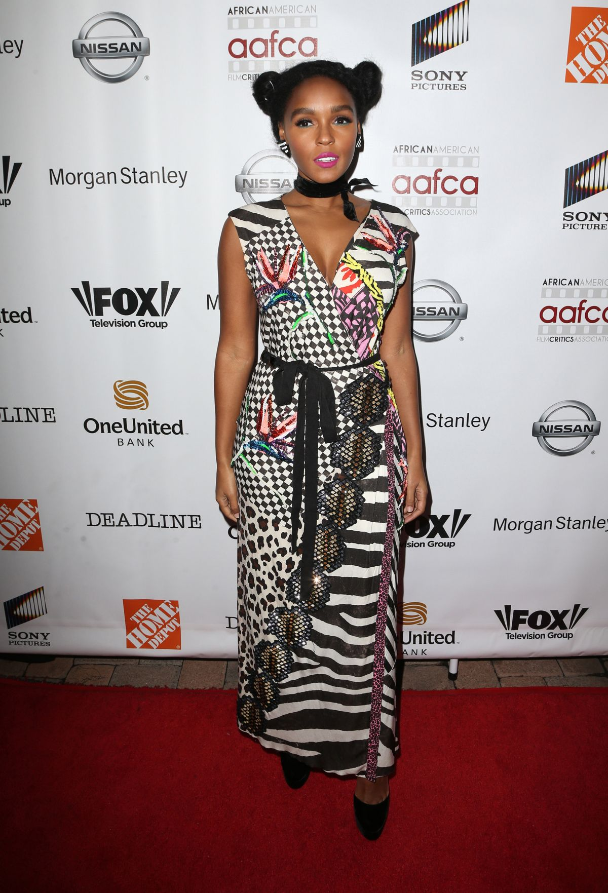 JANELLE MONAE at 8th Annual AAFCA Awards in Los Angeles 02/08/2017