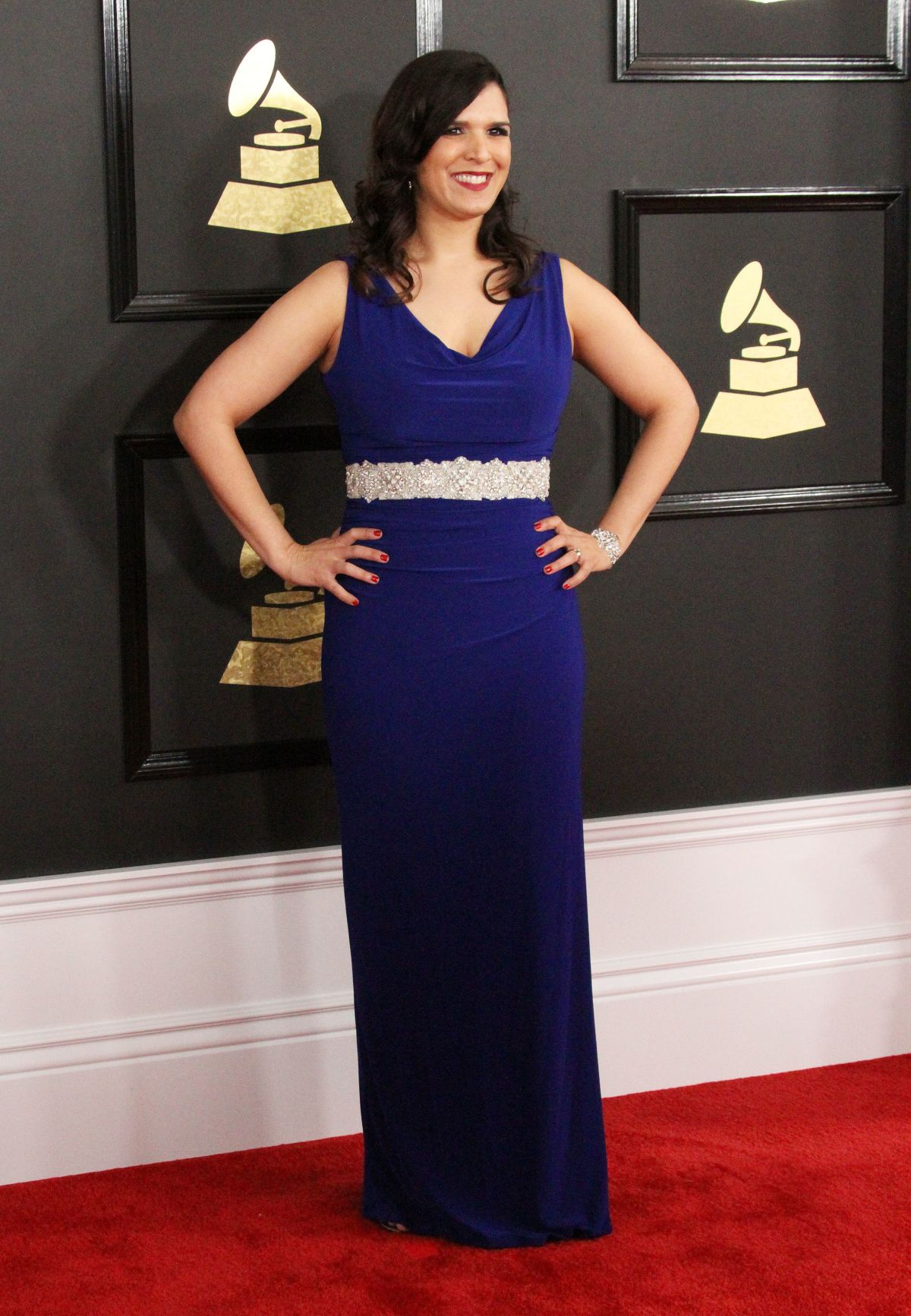 JEANNE MONTALVO at 59th Annual Grammy Awards in Los Angeles 02/12/2017