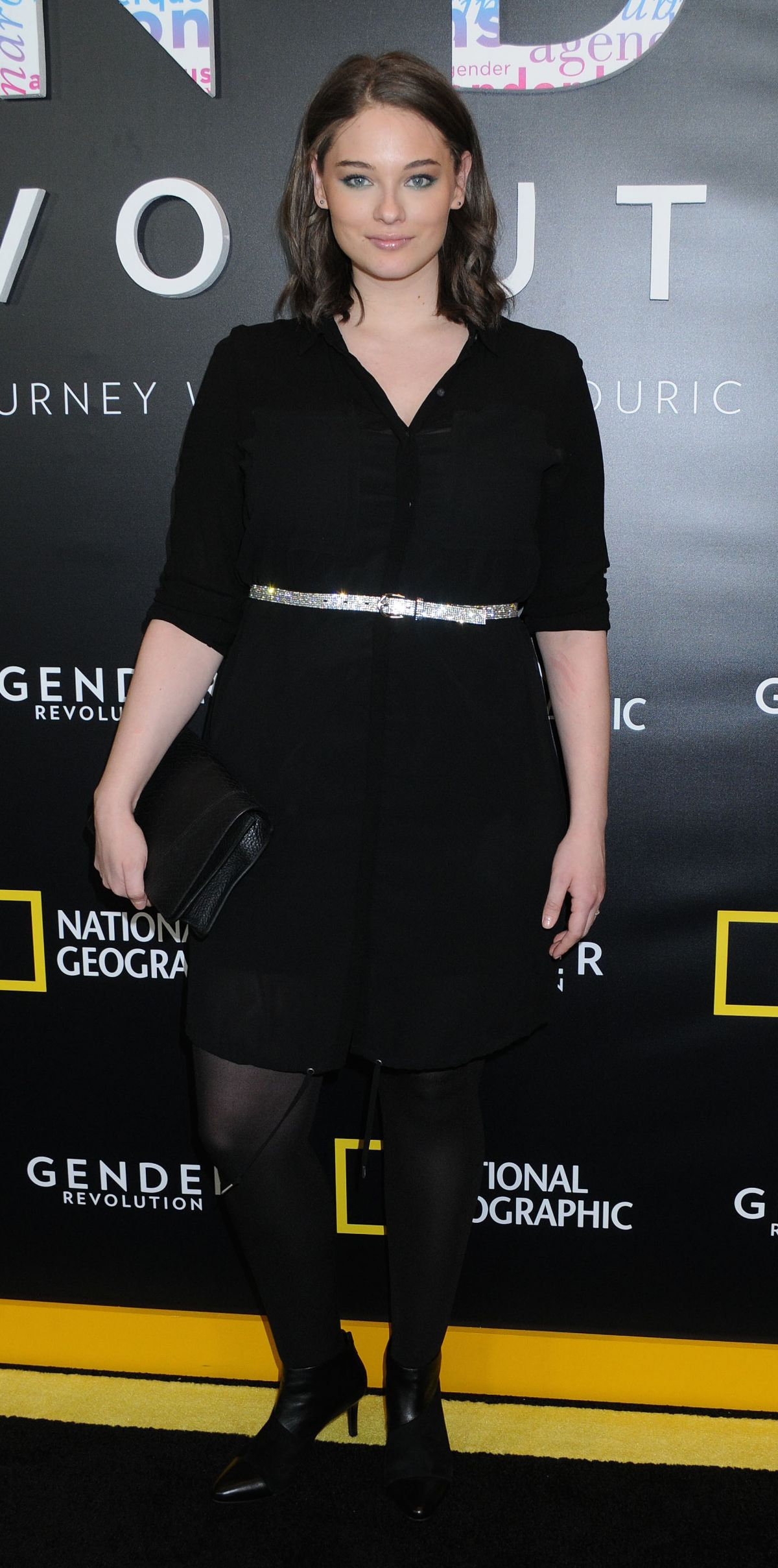 JENNIE RUNK at Gender Revolution: A Journey with Katie Couric Premiere in New York 02/02/2017