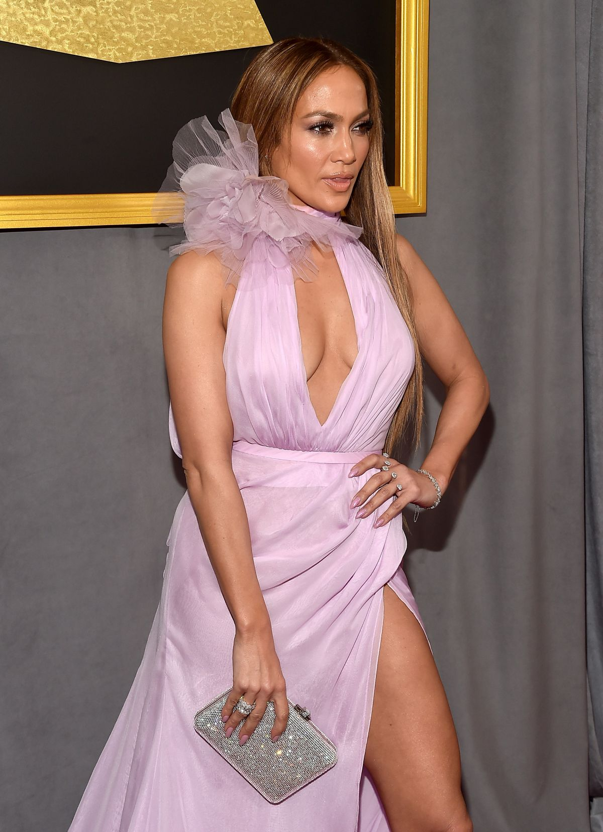 JENNIFER LOPEZ at 59th Annual Grammy Awards in Los Angeles 02/12/2017