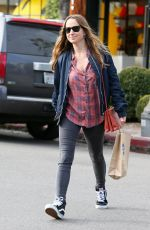 JENNIFER MEYER Shopping at Moon Juice and Anya Hindmarsh in Los Angeles 02/16/2017