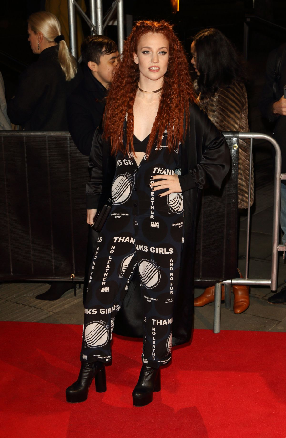 JESS GLYNNE at The Naked Heart Foundation Fabulous Fund Fair in London 02/22/2017