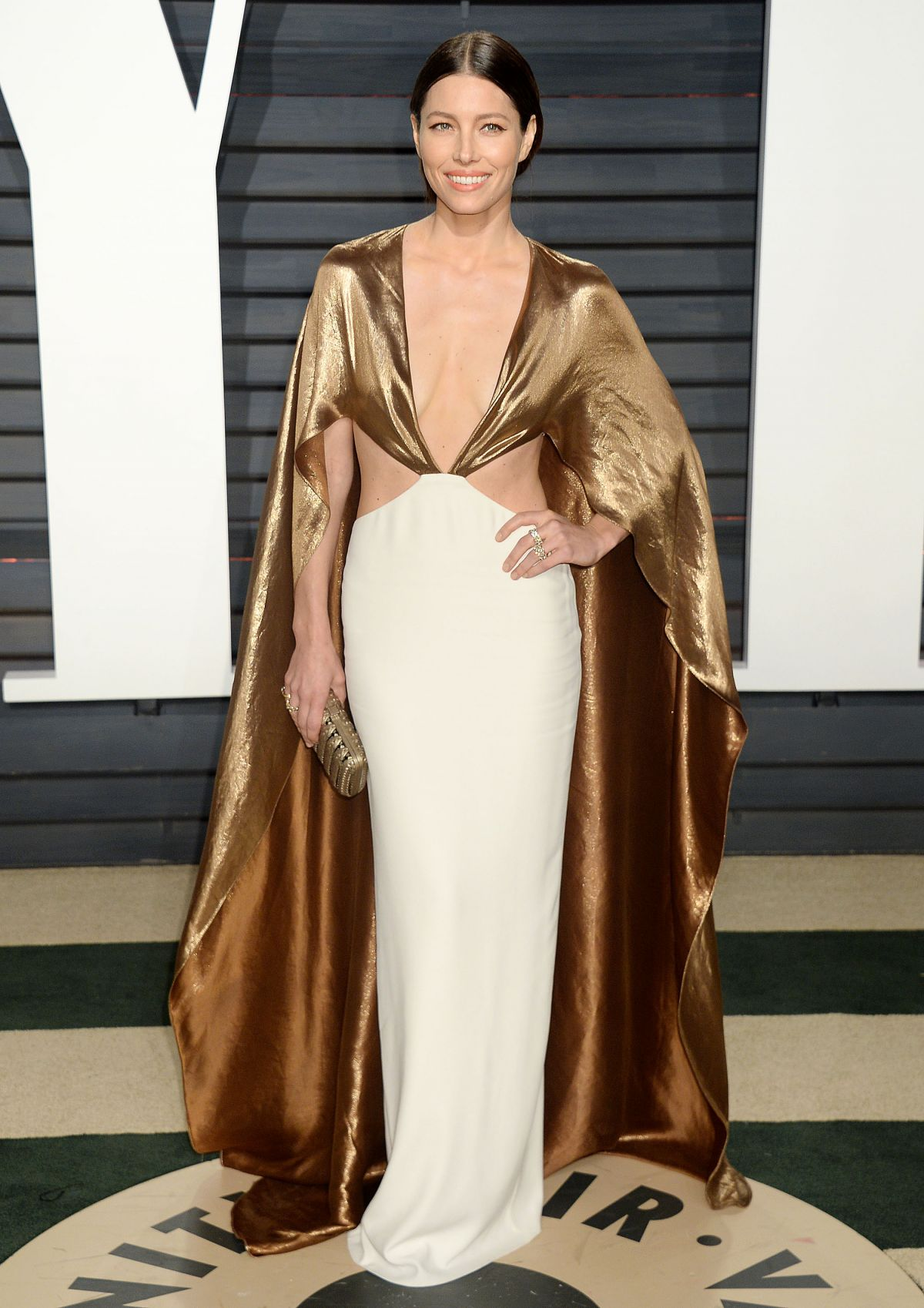 JESSICA BIEL at 2017 Vanity Fair Oscar Party in Beverly Hills 02/26/2017