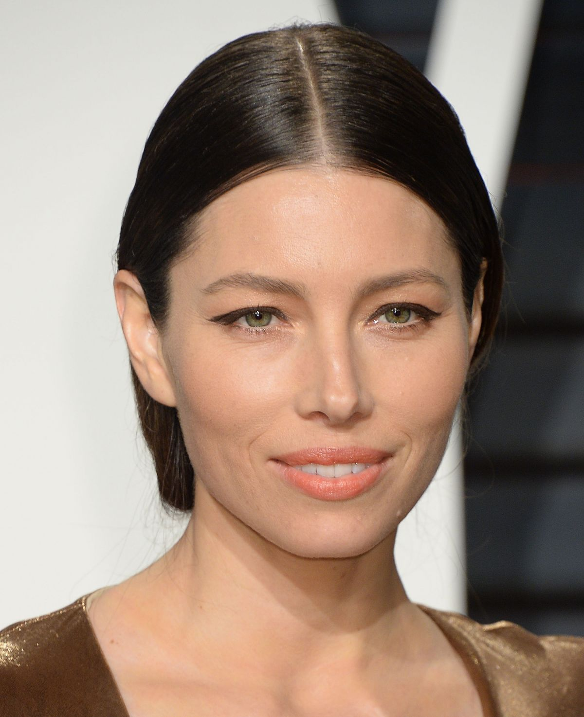 JESSICA BIEL at 2017 Vanity Fair Oscar Party in Beverly ...